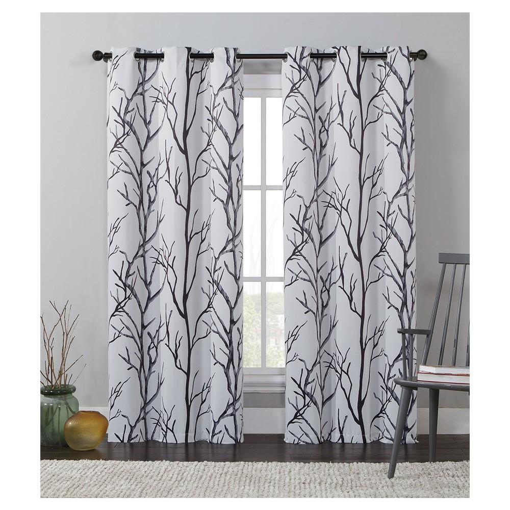 Kingdom Blackout Curtain Panel Ivory (42