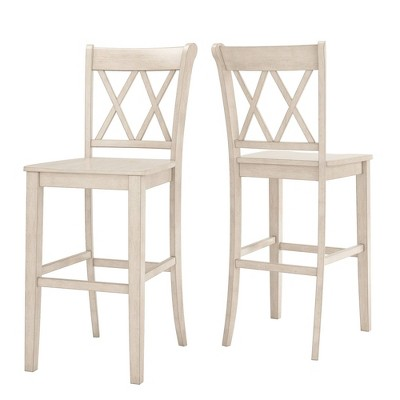 "Set of 2 29"" South Hill Double X Back Barstools - Inspire Q"