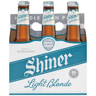 Shiner Light Blonde Beer - 6pk/12 fl oz Bottles