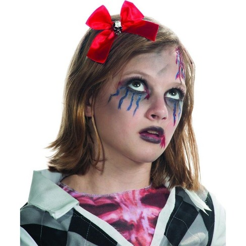 Rubie's Red Hair Bow & Skull Headband Costume Hair Accessory Child - image 1 of 1
