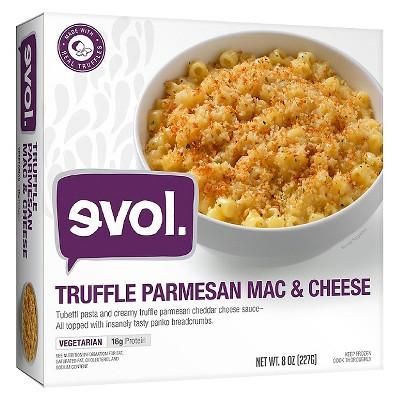 Evol Truffle Parmesan Frozen Macaroni and Cheese Bowl - 8oz