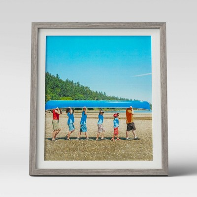 "8"" x 10"" Single Image Frame White/Gray - Room Essentials™"