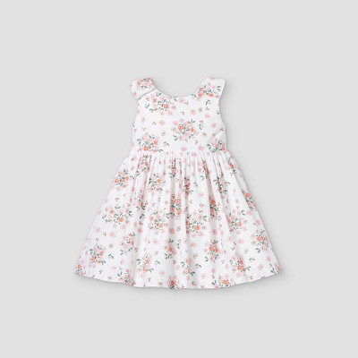 Toddler Girls' Floral Tank Dress - Just One You® made by carter's White