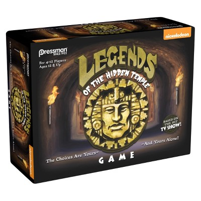 Nickelodeon Legends of the Hidden Temple Board Game
