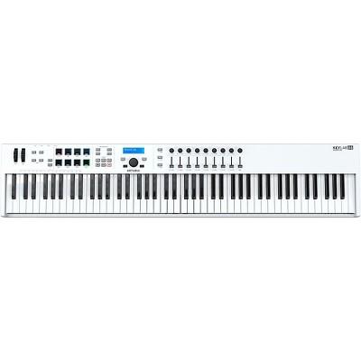 Arturia KeyLab Essential 88 MIDI Keyboard Controller White