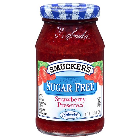 Smucker's® Strawberry Sugar Free Preserves - 12.75oz - image 1 of 1