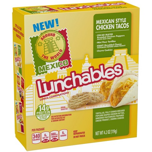 Oscar Mayer Lunchables Chicken Taco - 4.2oz - image 1 of 3