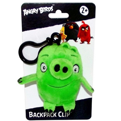 "License 2 Play Inc Angry Birds Movie 4.5"" Plush Clip On: Pig - image 1 of 1"