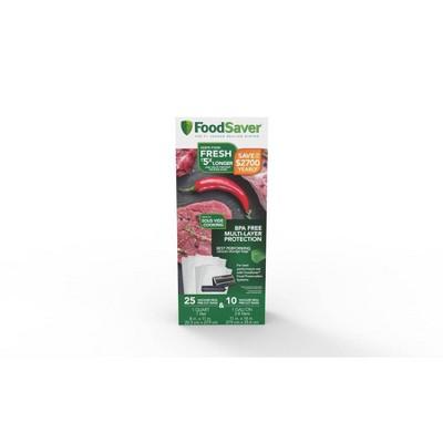 FoodSaver Multipack Vacuum Seal Pre-cut Bags