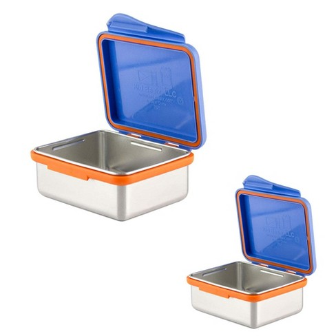 Kid Basix 23 Ounce Stainless Steel Lunch Box with 13 Ounce Lunch Box, Blue - image 1 of 4