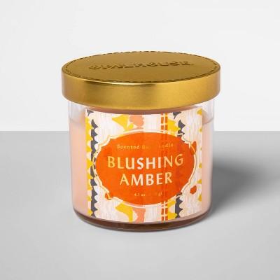 4.1oz Glass Jar Candle Blushing Amber - Opalhouse™