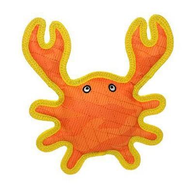 DuraForce Crab Dog Toy  - Orange