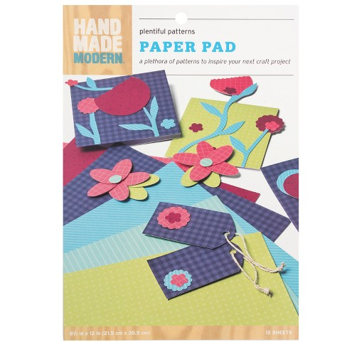 12ct Pattern Craft Paper - Hand Made Modern - image 1 of 1
