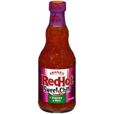 Frank's RedHot Sweet Chili Hot Sauce - 12oz