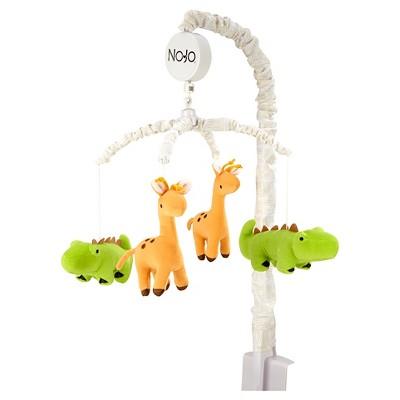 NoJo Zoobilee Crib Mobile