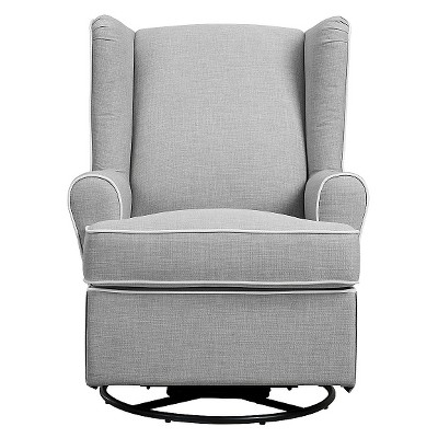 Eddie Bauer® Upholstered Wingback Swivel Glider