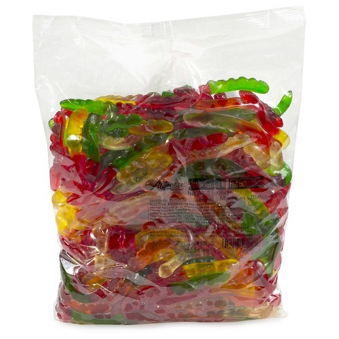 Albanese Assorted Flavor Gummy Worms - 5lbs - image 1 of 1
