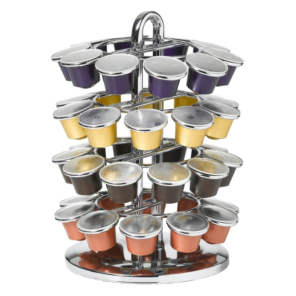 Image of Nifty 40 Capacity Carousel for Nespresso Capsules, White