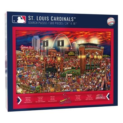 MLB St. Louis Cardinals 500pc Find Joe Journeyman Puzzle