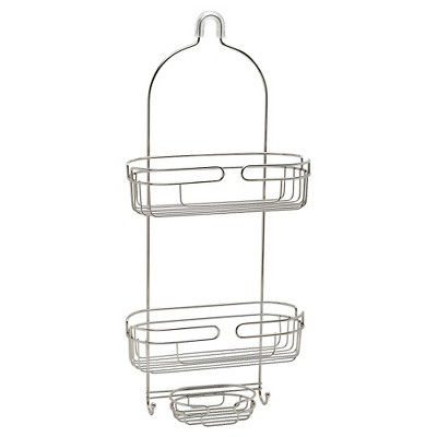 Stainless Over-The-Shower Head Caddy - Zenna Home