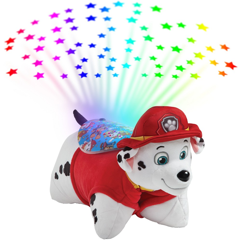 PAW Patrol Marshall Sleeptime Lites Plush Night Light - Pillow Pets, White