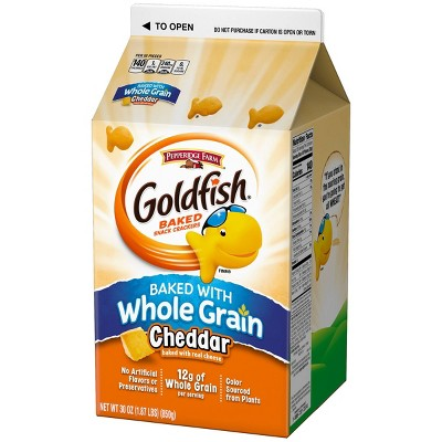 Crackers: Goldfish Whole Grain
