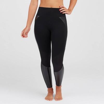 ASSETS by SPANX Women's Moto Leggings - Black
