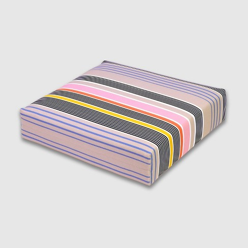 Multi-Stripe Outdoor Deep Seat Cushion - Threshold™ - image 1 of 3