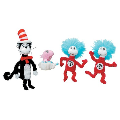 Manhattan Toy Dr Seuss Cat In The Hat Finger Puppet Boxed Set Target