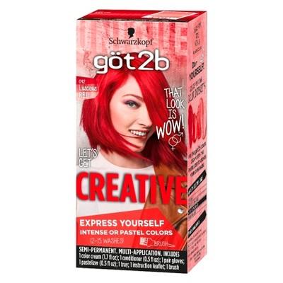 Got2b Color Creative Luscious Red - 4.2oz