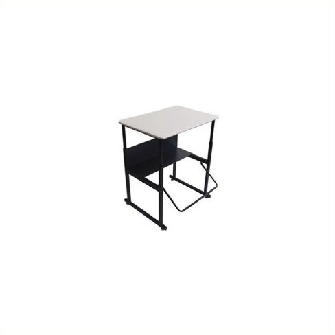 Excellent 20 X 28 Height Adjustable Student Desk In Gray Pemberly Row Cjindustries Chair Design For Home Cjindustriesco
