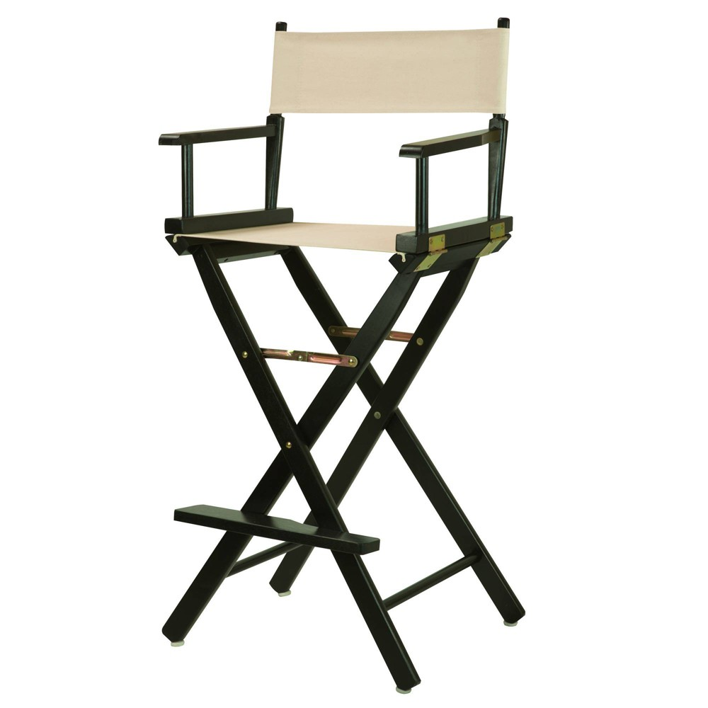 Natural Bar Height Director S Chair