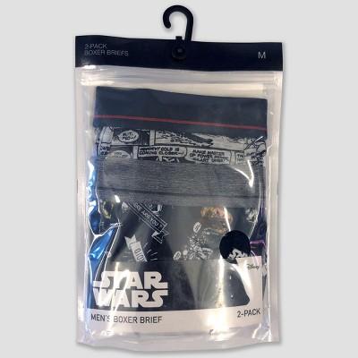 65e463cc05a05 Men's Star Wars Comic Art 2pk Boxer Briefs – Black M – Target ...