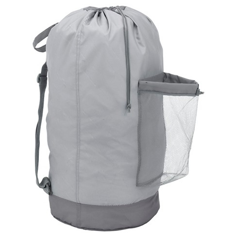 Backpack Laundry Bag Gray Room Essentials