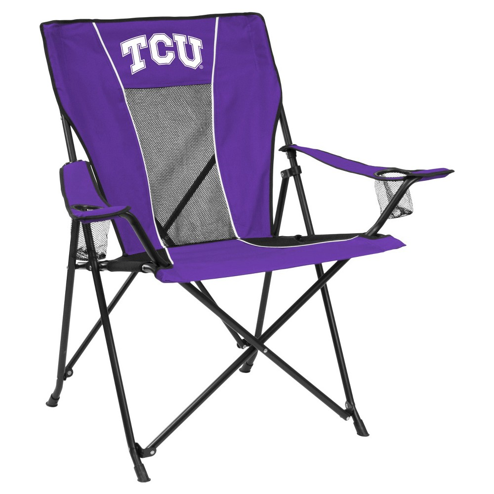 Tcu Horned Frogs Game Time Folding Camp Chair