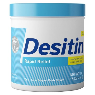 Desitin Rapid Relief Creamy Diaper Rash Ointment - 16 oz.