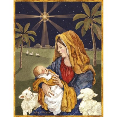 18ct Jesus & Mary Holiday Boxed Cards