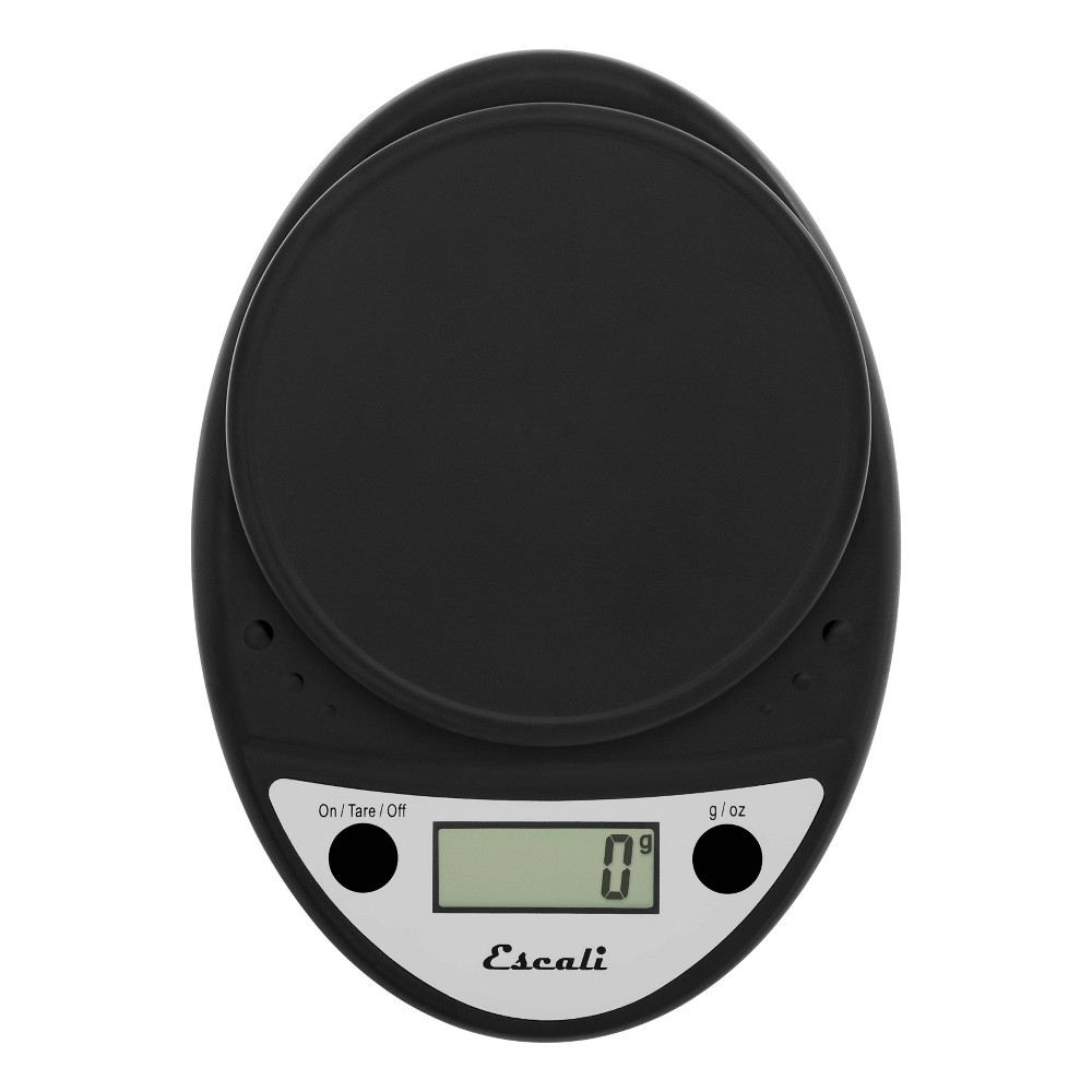 Image of Escali Primo Digital Kitchen Scale Black