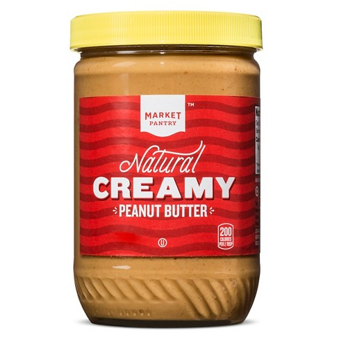 Natural Creamy Peanut Butter - 16oz - Market Pantry™ - image 1 of 1