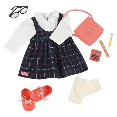 """Our Generation School Fashion Outfit for 18"""" Dolls - Perfect Score"""