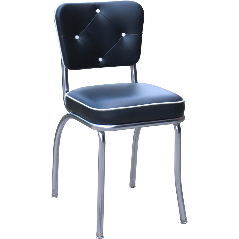 Set Of 2 Lucy Diner Chair Black Richardson Seating