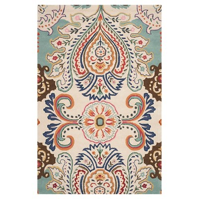 Harvey Area Rug - Ivory/Blue (6'x9')- Safavieh®