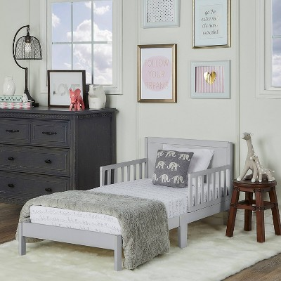 Dream On Me Brookside Toddler Bed - Gray