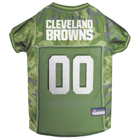 NFL Pets First Camo Pet Football Jersey - Cleveland Browns - image 1 of 2