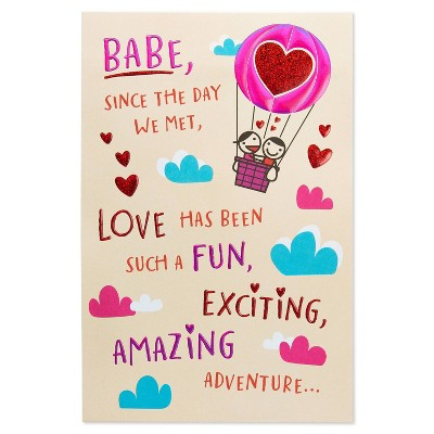 Valentine's Day Card for Wife Adventure