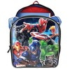 "Marvel Universe 6D Molded 16"" Kids' Deluxe Backpack - Blue - image 3 of 4"