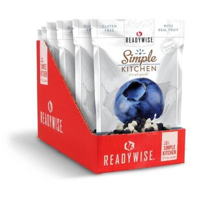 READYWISE Gluten Free Simple Kitchen Blueberries & Yogurt Freeze-Dried Fruit - 9.06oz/6ct