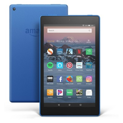 "Amazon Fire HD 8 Tablet 8"" HD Display (8th Generation, 2018 Release) - Blue - 32GB (with Special Offers)"