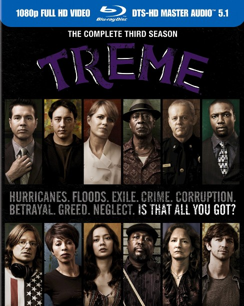 Treme:Complete Third Season (Blu-ray) - image 1 of 1