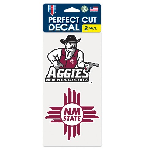 NCAA New Mexico State Aggies Window Decal 2pk - image 1 of 1